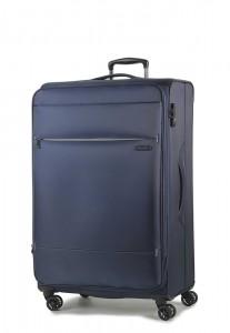 ROCK LONDON Cestovní kufr Deluxe-Lite M 75/82 l – tmavě modrá
