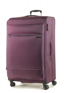 ROCK LONDON Cestovní kufr Deluxe-Lite L 109/117 l – tmavě fialová
