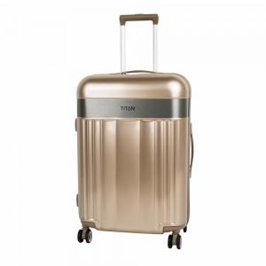 Titan Cestovní kufr Spotlight Flash 4w M Gold metalic