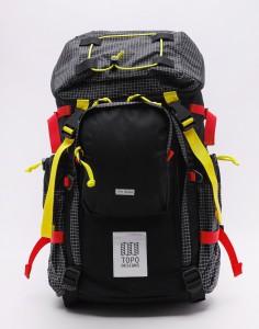 Batoh Topo Designs Subalpine Pack Black Velké (31 – 50 litrů)