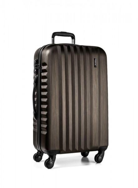 March Skořepinový cestovní kufr M Ribbon SE 61,5 l – bronzová