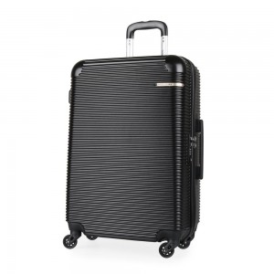 David Jones Paris Cestovní kufr M BA-1013-3N 57 l – černá