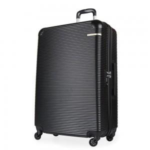 David Jones Paris Cestovní kufr L BA-1013-3N 88 l – černá