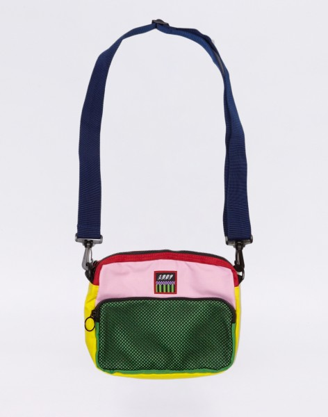 Lazy Oaf Colour Block Shoulder Bag MULTI