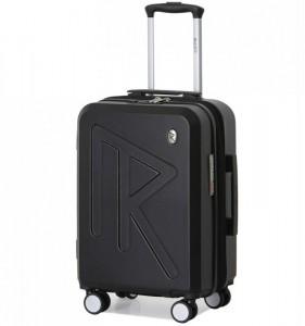 Raido Numero Uno S palubní kufr TSA 55 cm 36-45 l Black Mood Line