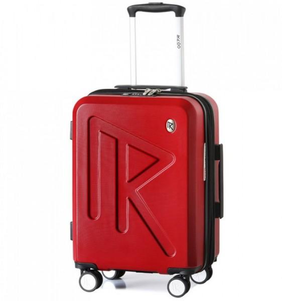 Raido Numero Uno S palubní kufr TSA 55 cm 36-45 l Red Mood Line