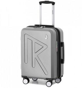 Raido Numero Uno S palubní kufr TSA 55 cm 36-45 l Silver Mood Line