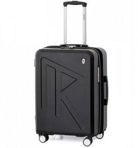 Raido Numero Uno M cestovní kufr TSA 65 cm 66-83 l Black Mood Line