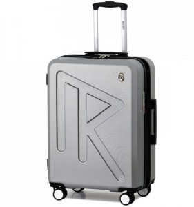 Raido Numero Uno M cestovní kufr TSA 65 cm 66-83 l Silver Mood Line