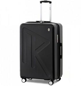 Raido Numero Uno L cestovní kufr TSA 78 cm 97-121 l Black Mood Line