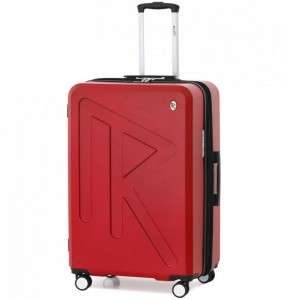 Raido Numero Uno L cestovní kufr TSA 78 cm 97-121 l Red Mood Line