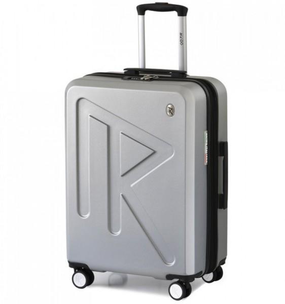Raido Numero Uno L cestovní kufr TSA 78 cm 97-121 l Silver Mood Line