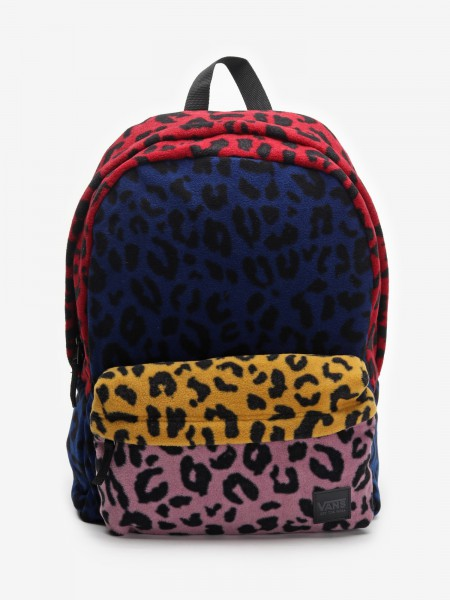 Batoh Vans Wm Deana Iii Backpack Leopard Patchwork Barevná 785304