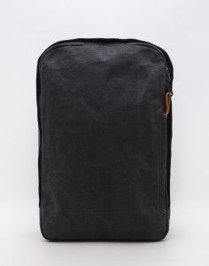 Batoh Qwstion Backpack Organic Washed Black Střední (21 – 30 litrů)