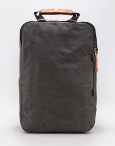 Batoh Qwstion Daypack Organic Washed Grey Malé (do 20 litrů)