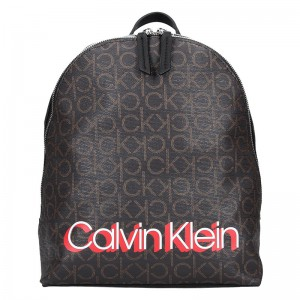 Dámský batoh Calvin Klein Denissa – hnědá