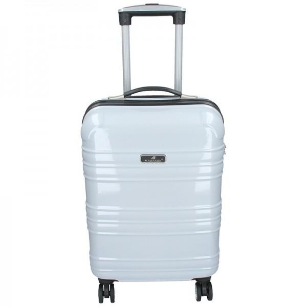 Kabinový cestovní kufr Madisson Elma – bílá 35l