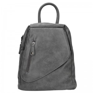 Moderní dámský batoh Just Dreamz Brenda – šedá