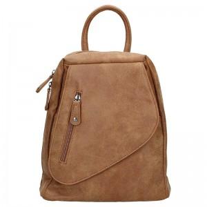 Moderní dámský batoh Just Dreamz Brenda – hnědá