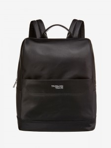 Batoh Trussardi Business City Backpack Md Nylon Černá 782998