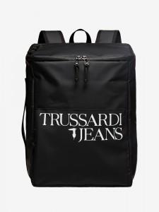 Batoh Trussardi T-Travel Backpack Md Pvc Černá 783004