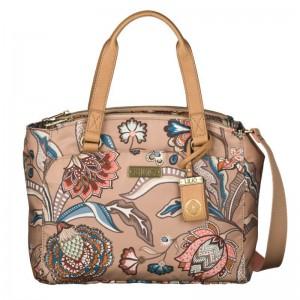 LiLiÓ Arcadia S Handbag Fudge praktická květovaná kabelka 27,5 cm