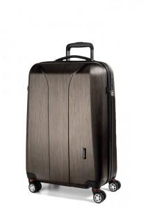 March Kabinový cestovní kufr New Carat SE S 34,5 l – bronzová