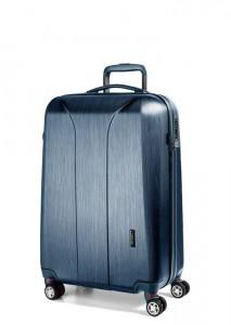 March Kabinový cestovní kufr New Carat SE S 34,5 l – modrá