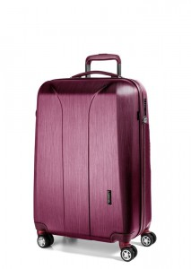 March Kabinový cestovní kufr New Carat SE S 34,5 l – růžová