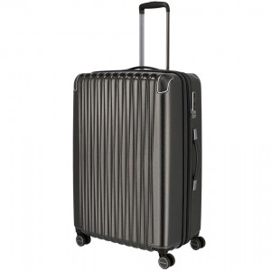 Titan Skořepinový cestovní kufr Barbara Glint L Anthracite metallic 100 l