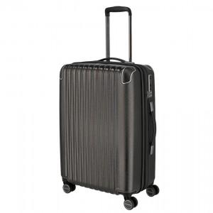 Titan Skořepinový cestovní kufr Barbara Glint M Anthracite metallic 68/78 l