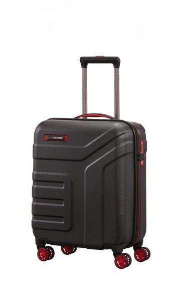 Travelite Kabinový cestovní kufr Vector 4w S Black 40 l
