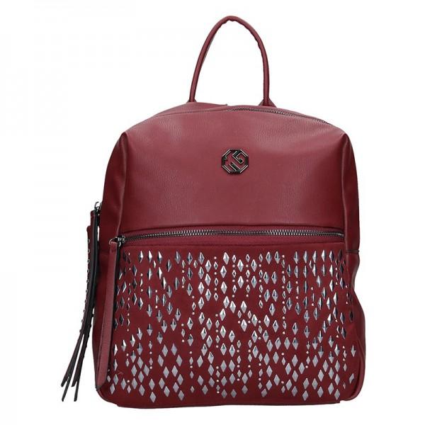 Dámský batoh Marina Galanti Laura – vínová