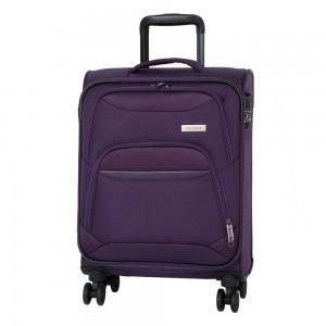 Travelite Kabinový cestovní kufr Kendo 4w S Purple 33 l