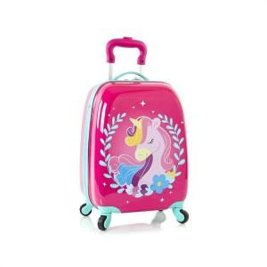 Heys Kids 4w dětský cestovní kufr 46 cm Unicorn