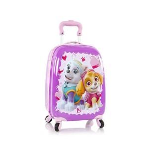 Heys Kids Paw Patrol 4w dětský cestovní kufr 46 cm Purple