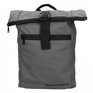 Pánský trendy batoh Enrico Benetti Kall – šedá