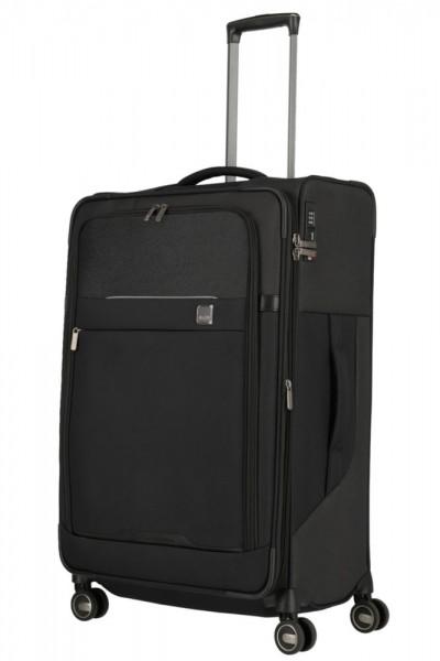Titan Látkový cestovní kufr Prime 4w L Black 91/105 l
