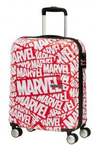 American Tourister Kabinový cestovní kufr Wavebreaker Marvel Spinner 31C 36 l – Marvel Logo