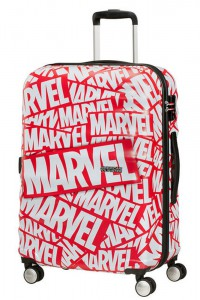 American Tourister Cestovní kufr Wavebreaker Marvel Spinner 31C 64 l – Marvel Logo