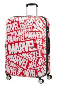 American Tourister Cestovní kufr Wavebreaker Marvel Spinner 31C 96 l – Marvel Logo