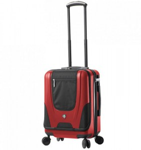Mia Toro M1325/3-S Ibeido palubní kufr TSA 57 cm 39 l Red