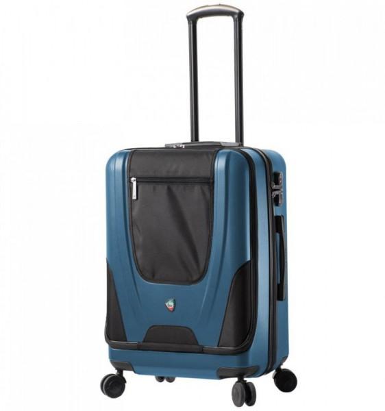 Mia Toro M1325/3-M Ibeido cestovní kufr TSA 67 cm 68-85 l Blue