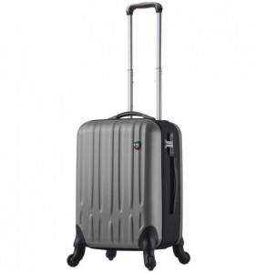 Mia Toro M1301/3-S Piega cestovní kufr TSA 59 cm 45 l Silver