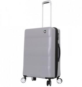 Mia Toro M1703/3-M Ibrido cestovní kufr TSA 69,5 cm 63-79 l Silver