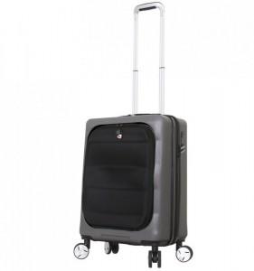 Mia Toro M1703/3-S Ibrido palubní kufr TSA 58 cm 46-58 l Charcoal
