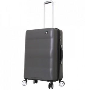Mia Toro M1703/3-M Ibrido cestovní kufr TSA 69,5 cm 63-79 l Charcoal