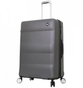 Mia Toro M1703/3-L Ibrido cestovní kufr TSA 79,5 cm 103-129 l Charcoal