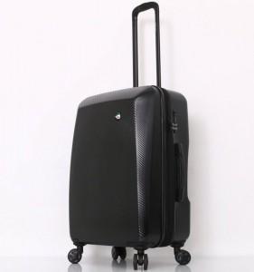 Mia Toro M1713/3-M Torino cestovní kufr TSA 69 cm 66-83 l Black