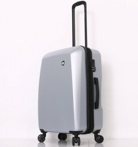Mia Toro M1713/3-M Torino cestovní kufr TSA 69 cm 66-83 l Silver